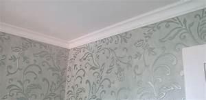 Tapeten Muster Wände : tapeten malerei lauper ag ~ Markanthonyermac.com Haus und Dekorationen