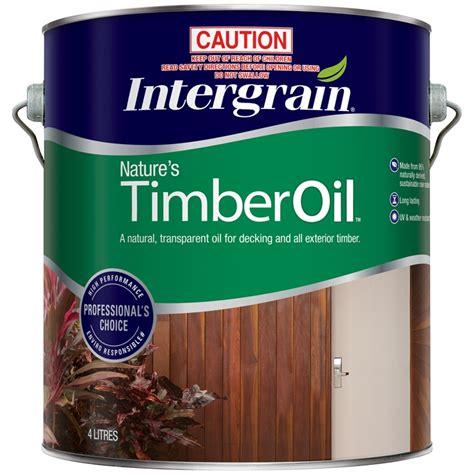 intergrain  jarrah exterior natures timber oil