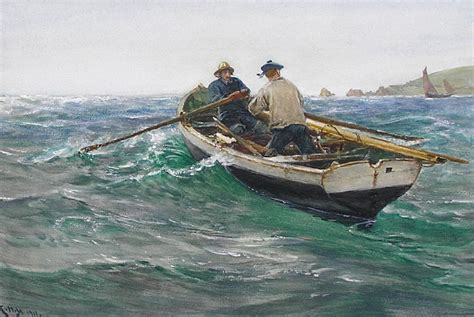 Charles Napier Hemy (18411917), Off The Manacles