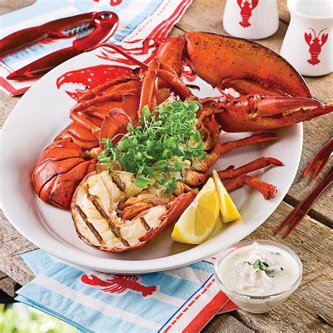 cuisine au grill homard grillé au parfum des îles recettes cuisine et