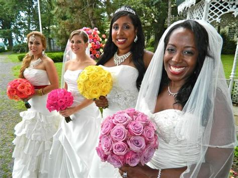 When 3 Brides Discover The 4th Is Having A Township