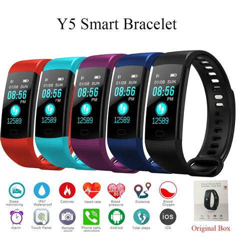 Tonbux Y5 Smart Band Heart Rate Tracker Fitness Tracker Y5