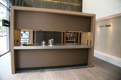 armani kitchen design cucina mobili launches dada showroom philippine tatler 1347