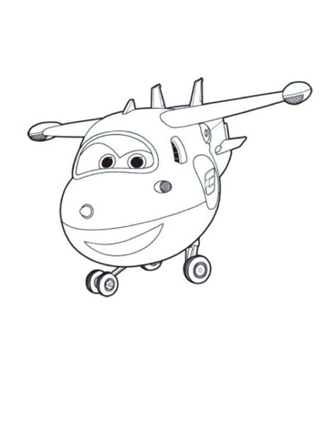 Sprout Super Wings Coloring Pages