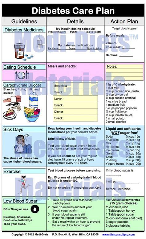 diabetes care plan diabetes information diabetes care