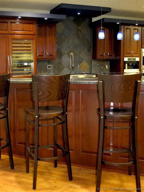 images  kitchen bar stools  pinterest dark wood kitchens bar  islands