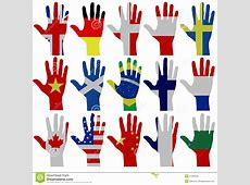 Flag Hands Royalty Free Stock Images Image 27933229
