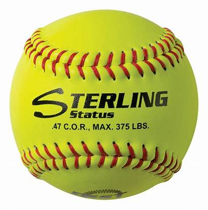 Softball Fastpitch Transparent Leather Balls Club Ball