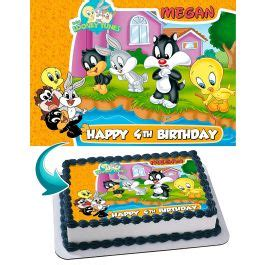 Baby Looney Tunes Edible Cake Topper