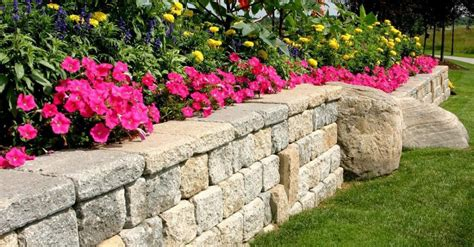 unilock buffalo stunning retaining wall options for your buffalo ny