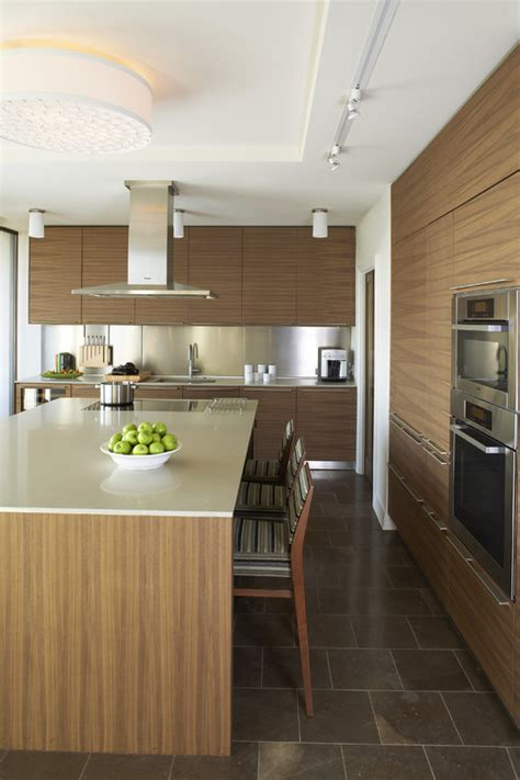 designs of kitchen vertical or horizontal match walnut veneer for a small 3316