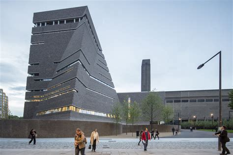 tate modern museum gallery herzog de meuron s tate modern extension photographed by laurian ghinitoiu archdaily