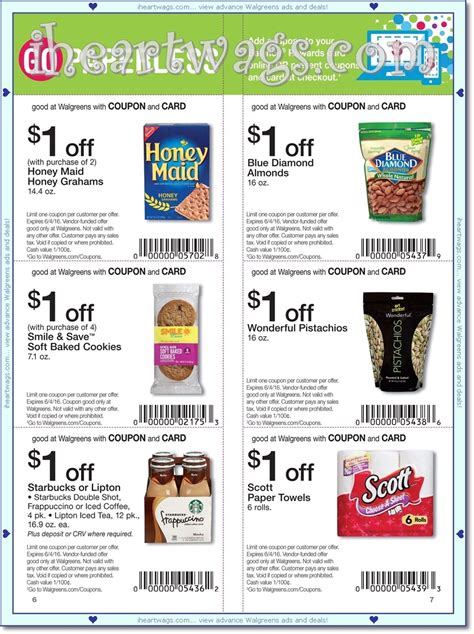 heart wags ad scans   coupon book