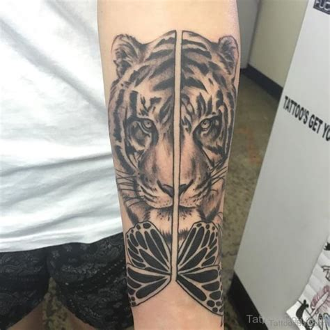 fine tiger tattoos  wrist