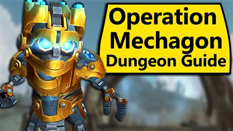 operation mechagon mythic dungeon guide youtube