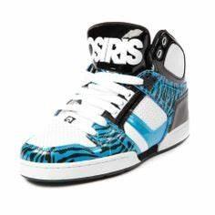 Womens Osiris NYC 83 Slim Skate Shoe Black Nebula