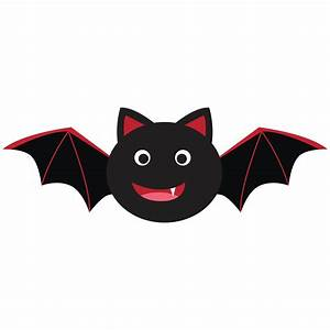 Fangs clipart cute halloween bat - Pencil and in color ...