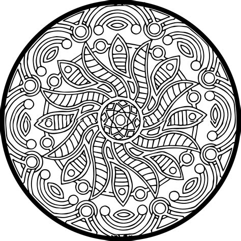 Full Size Coloring Pages For Adults at GetColorings com