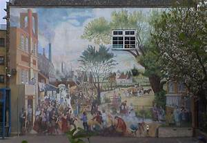 Somers Town Mural   London Remembers  Aiming To Capture