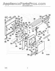 Parts For Frigidaire Pl36dd50ec  Replacement Parts