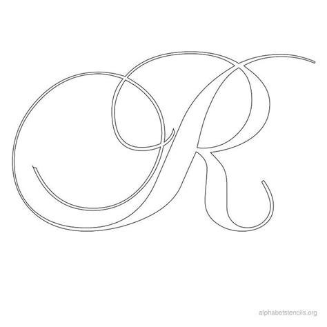 cursive  ideas  cursive  cursive alphabet stencils stencils printables letter