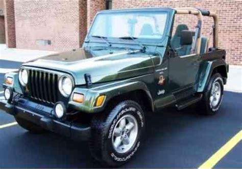 jeep wrangler  green sahara edition   beautiful