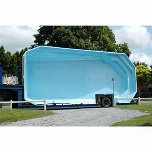 Piscine Hors Sol 6x4 : construction installation d une piscine structure monocoque coque polyester ~ Melissatoandfro.com Idées de Décoration
