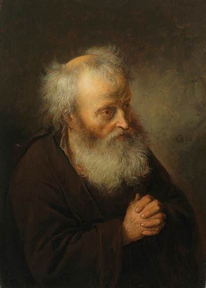 Praying Rembrandt Dou Gerrit Age Dutch Golden