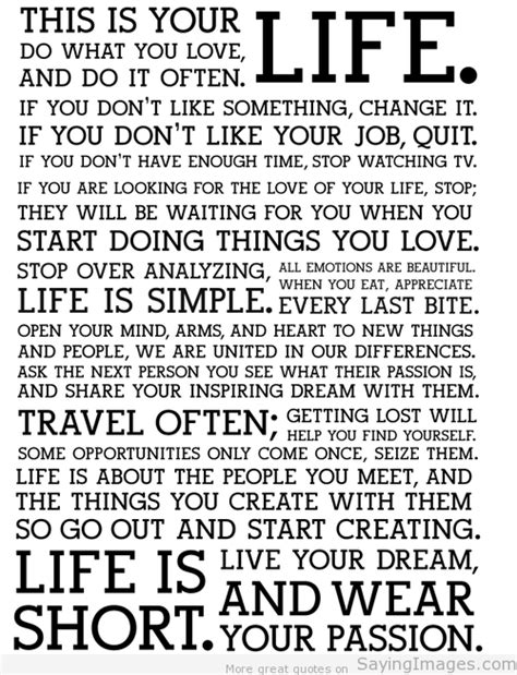 Quotes about Life   Life Quotes Pictures