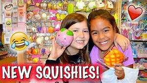 BFFs SHOPPING FOR SQUISHIES!!! Squishy Shopping Vlog and ...