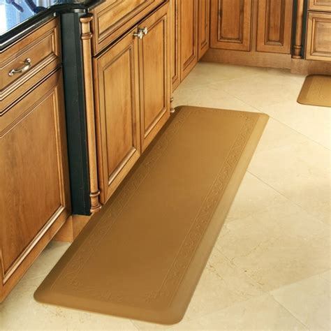 Memory foam kitchen floor mat, PU Decorative Best Kitchen
