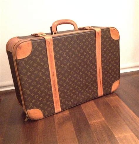 louis vuitton vintage jetsetter monogram luggage handbag
