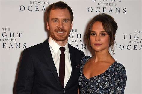 michael fassbender and vikander loved up at the light between oceans