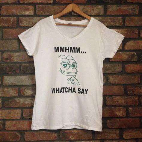 Memes T Shirt - pepe frog t shirt frog meme sad frog by frantasticbuttons on etsy