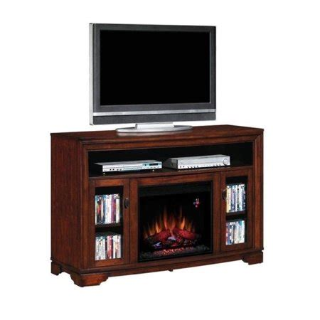 classic flame palisades electric fireplace  tv stand