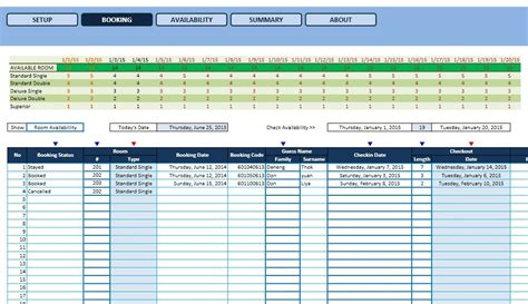 Availability Template Excel by Availability Template Excel Mexhardware