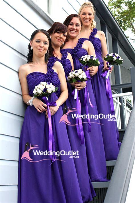 Cadbury Purple Bridesmaid Dresses Au