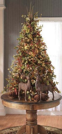 table top christmas tree top 15 rustic tree designs cheap easy interior decor project easy idea
