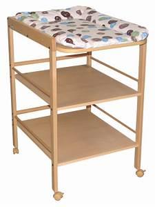 Table à Langer Bois : 12 tables langer bien stables pour changer b b ~ Teatrodelosmanantiales.com Idées de Décoration