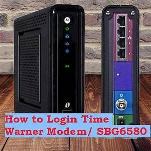 Motorola Sbg6580 Time Warner Router Login 192 168 0 1