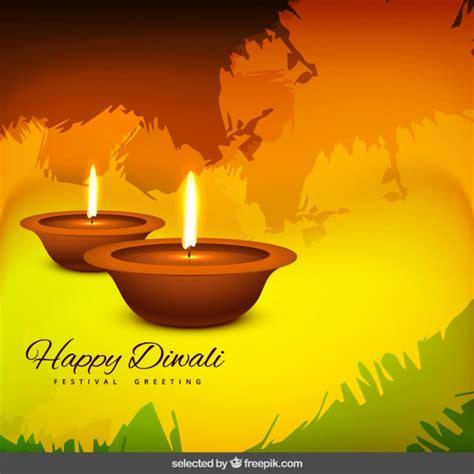 happy diwali festival greeting vector