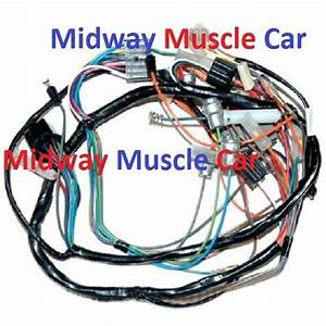Dash Wiring Harness 57 Chevy 150 210 Bel Air Nomad Deluxe