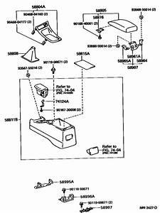 Console Box  U0026 Bracket For 1995