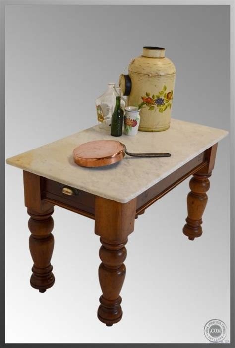 Kitchen Veg Drawers by Marble Antique Kitchen Utility Pantry Prep Side Table