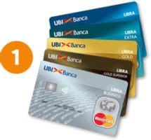 carta libra ubi banca classic extra gold  business
