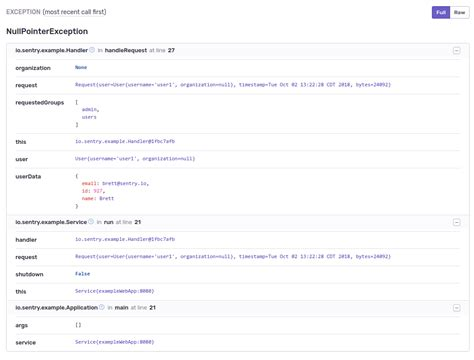 java agent sentry jvm android context traces adding stack agents note desktop