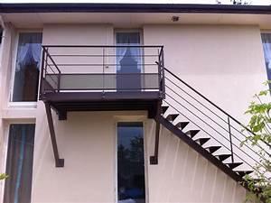 Escalier Exterieur Metal : r alisation flin mod le escalier ext rieur 100 m tal ~ Voncanada.com Idées de Décoration