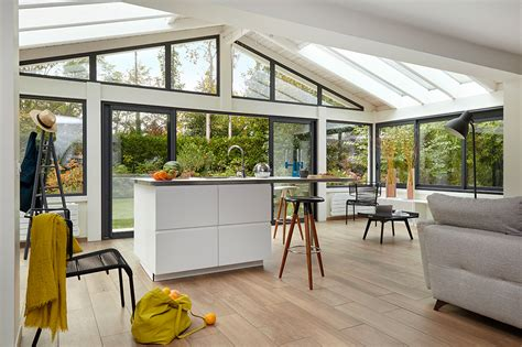 extension cuisine extension cuisine veranda veranda ouverte en bois 6