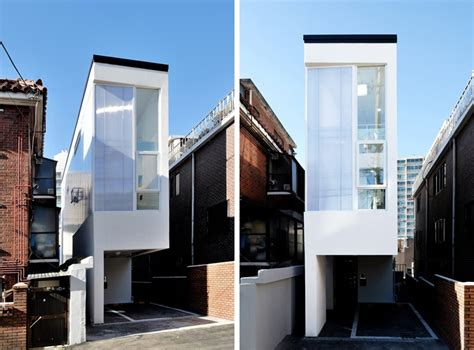 Mini House Is Set On A 3-meter-wide Plot In Seoul