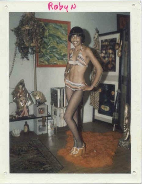 Strippers Poloroid Calling Cards From The 1960s And 1970s